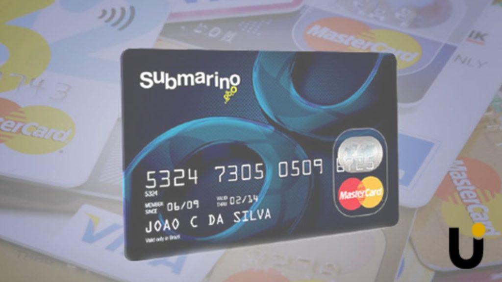 cartao de crédito submarino