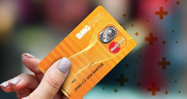 cartão de crédito bmg card