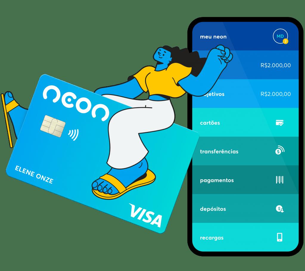 cartao de credito neon