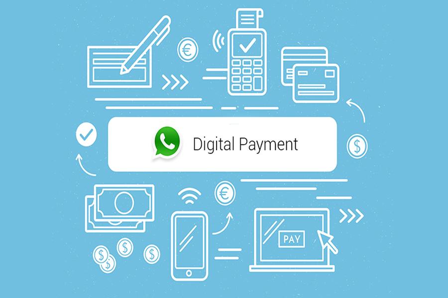 pagamentos via WhatsApp