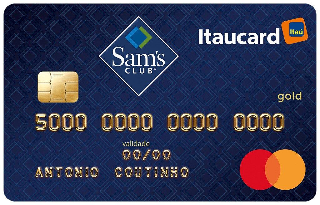 cartão de crédito sams club itaucard