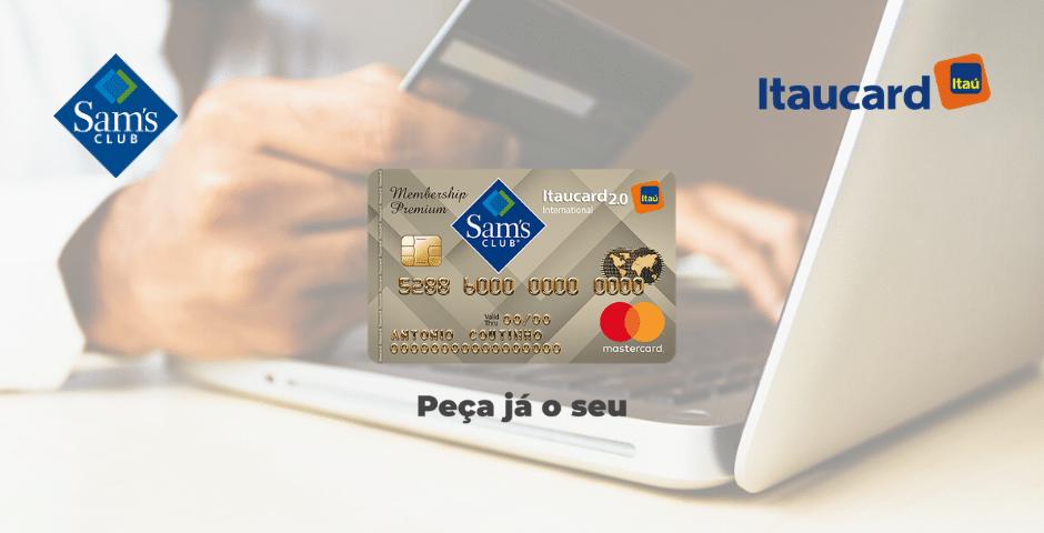 cartão Sam's Club Itaucard