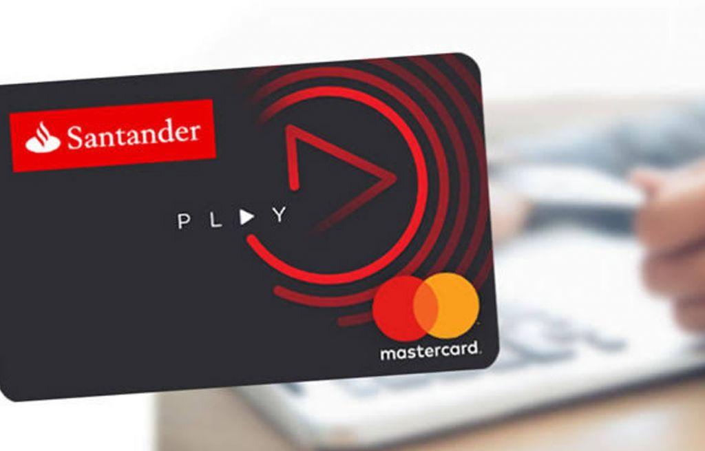cartao de credito santander play