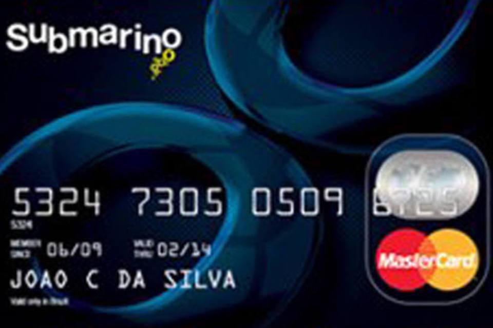 cartao de credito submarino