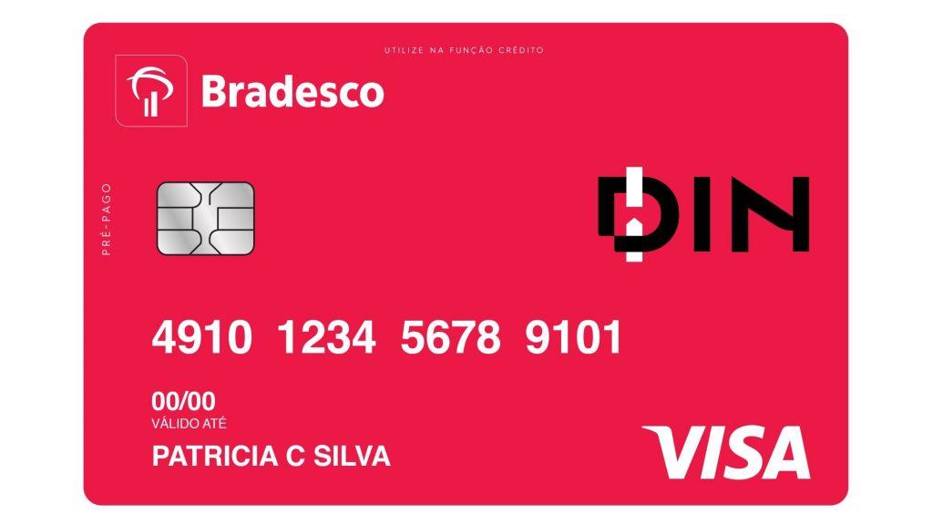 cartao de credito bradesco din