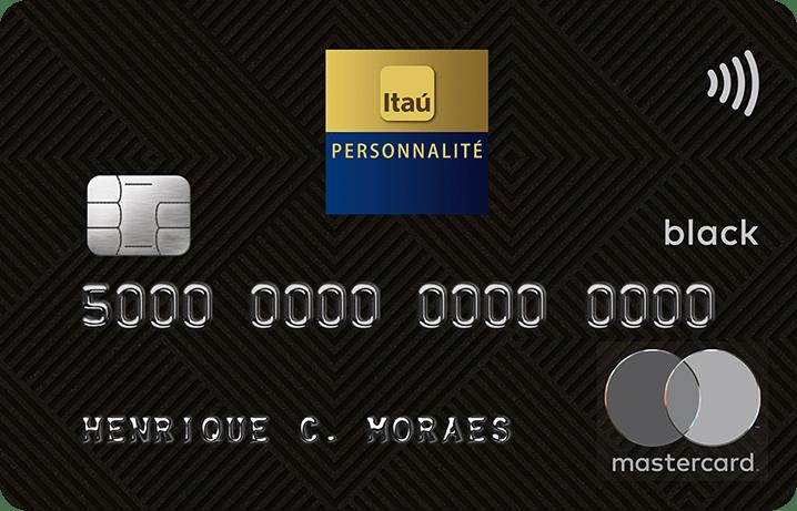 cartao personnalite mastercard black