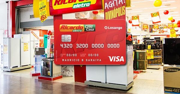 cartao de credito ricardo eletro