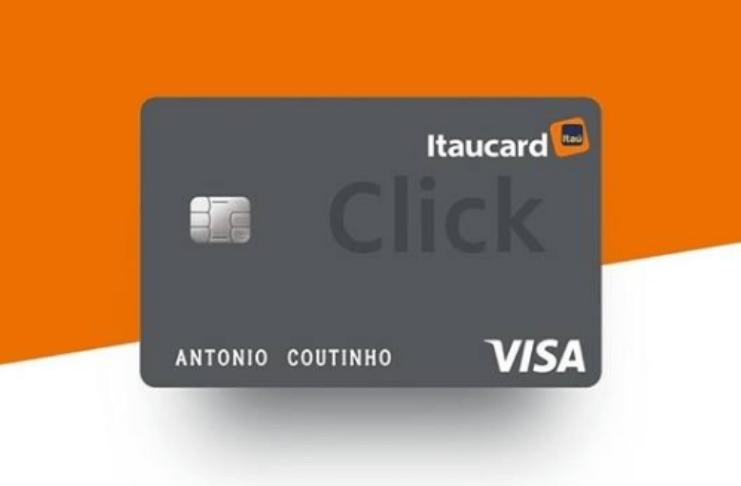 cartão itaú click