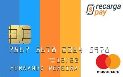 Recargapay cartão de crédito