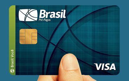 cartão brasil pre pago