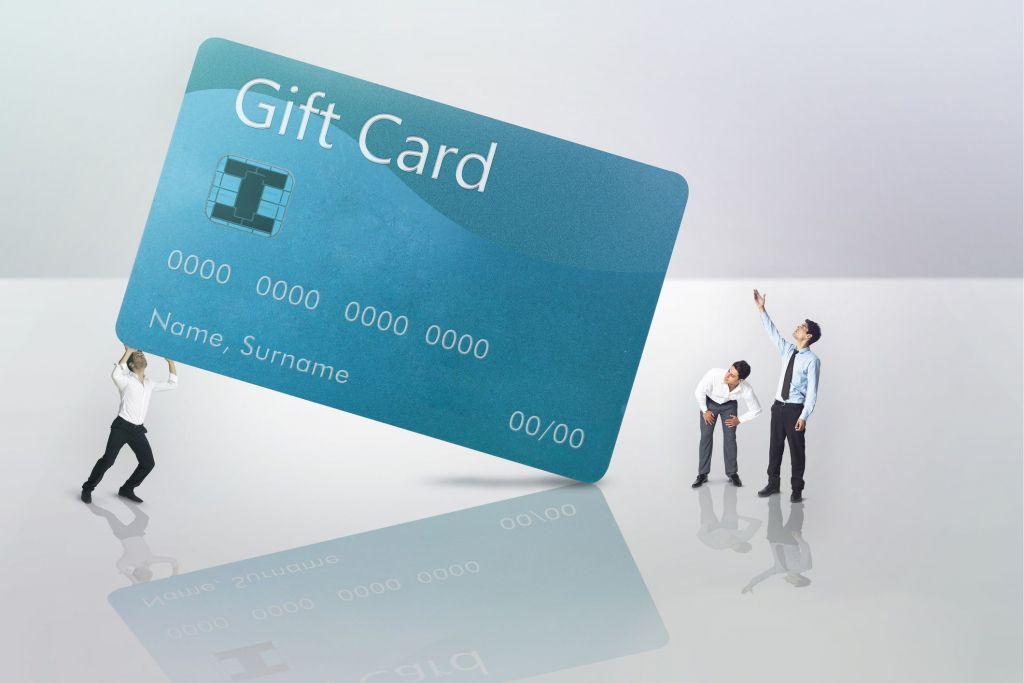 cartão gift card