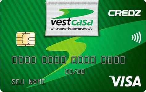 cartão de crédito vestcasa