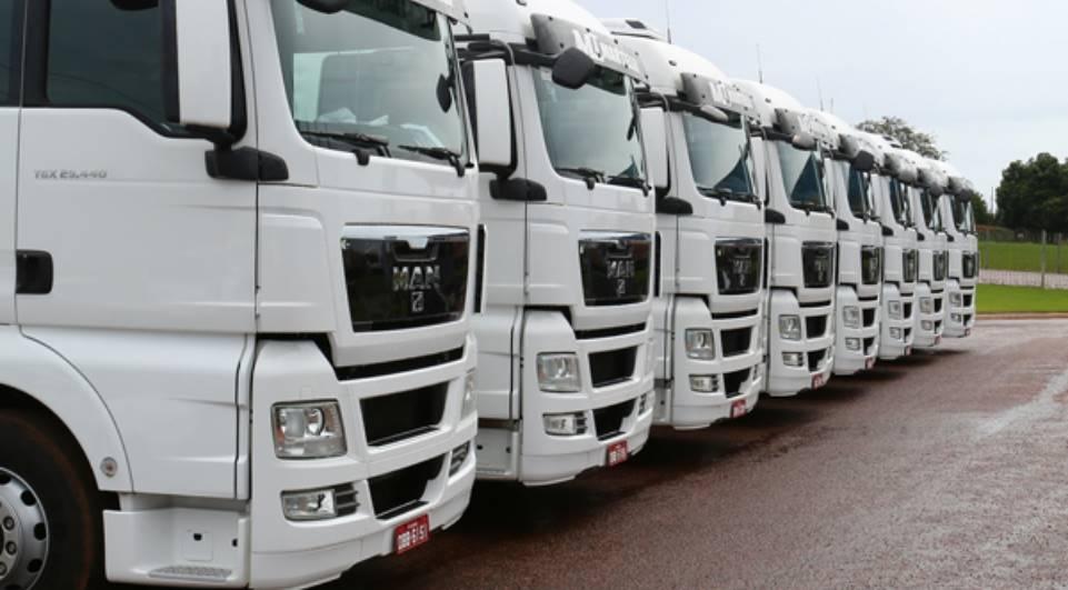 leilão caminhão
