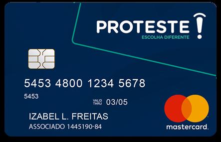 cartão proteste