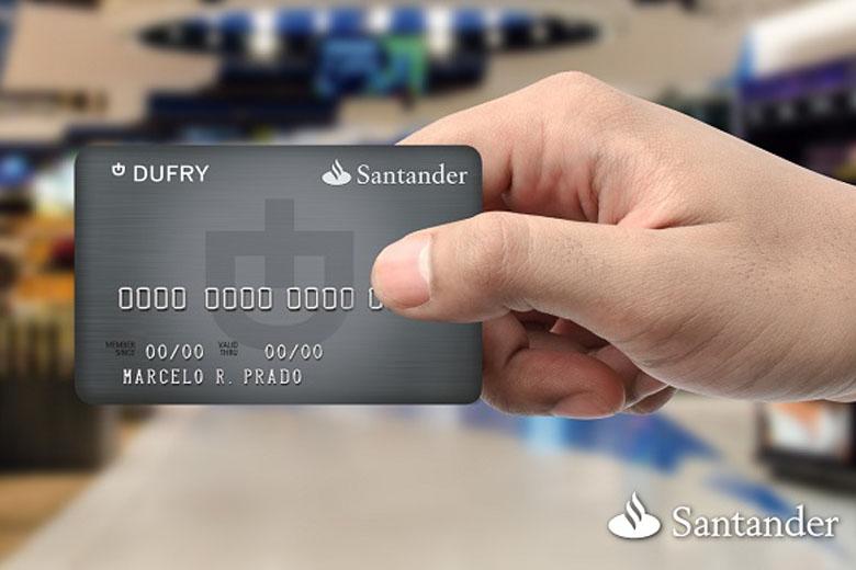 dufry cartão de crédito