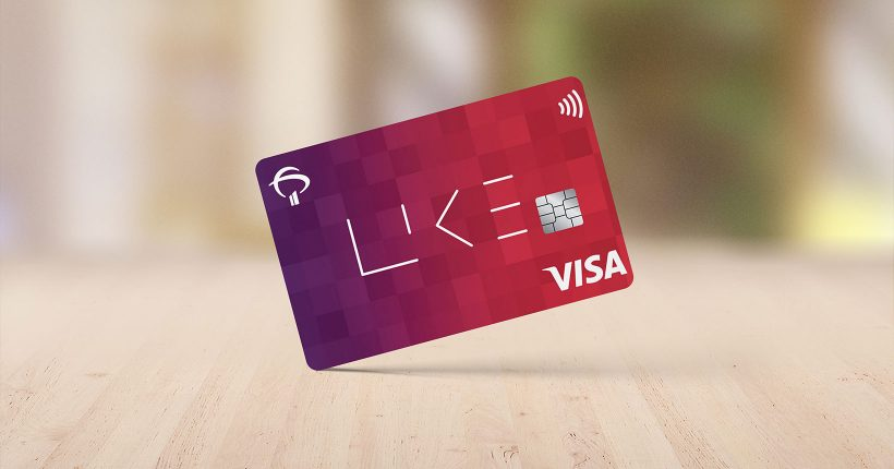 cartão like visa platinum