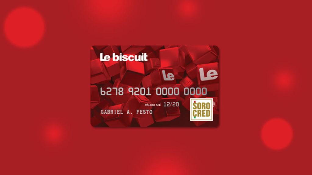 Cartão Le Biscuit